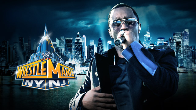 Sean Diddy Combs - WWE WrestleMania 29