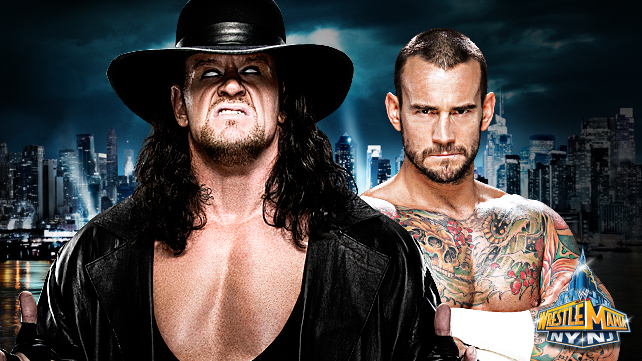 The Undertaker vs CM Punk - WWE WrestleMania 29