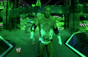 Triple-H Dry ice - Wrestlemania 29