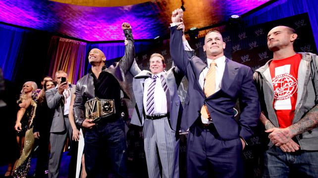 WWE WrestleMania 29 Press Conference