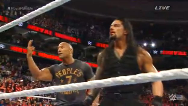 Roman Reigns Wins WWE Royal Rumble 2015