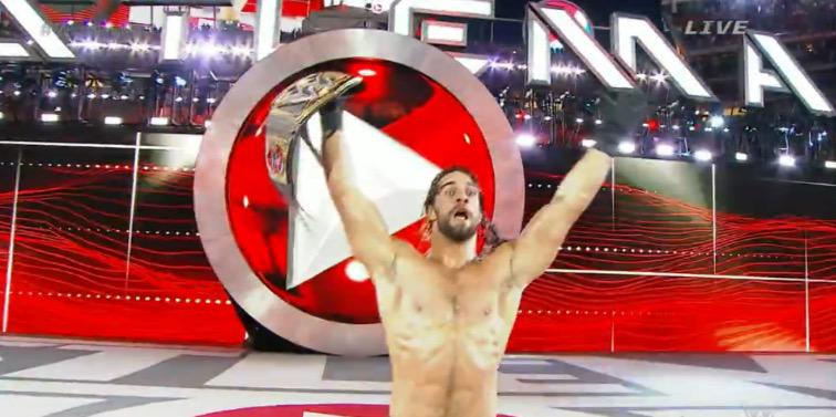 Seth Rollins Cashes In His MITB Contract at Wrestlemania 31