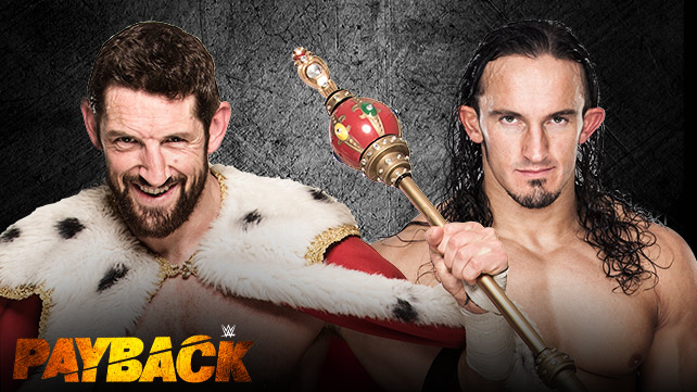 WWE Payback 2015 Results - King Barrett vs. Neville