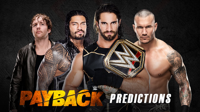 WWE Payback 2015 Predictions