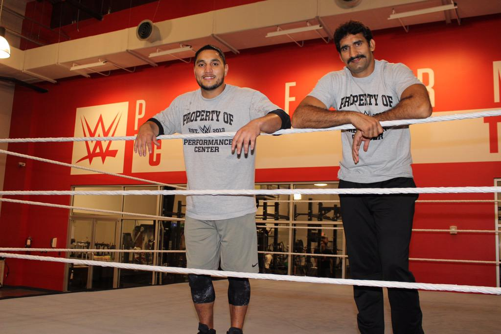 WWE NXT India - Lovepreet Sangha and Satender