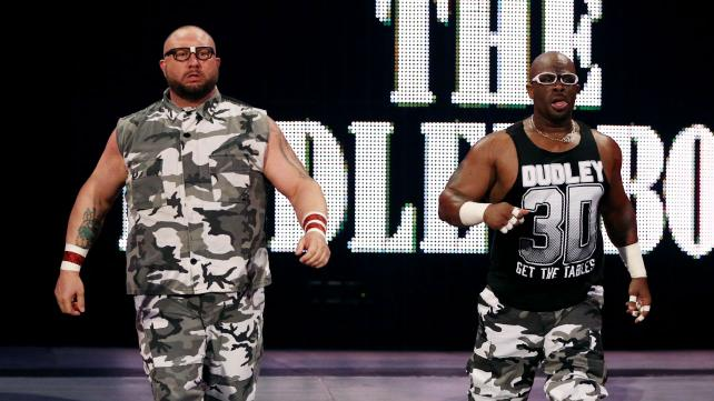 The Dudley Boyz returned