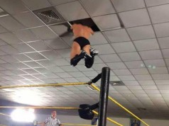 Finn Balor Hits Ceiling