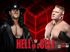The Undertaker vs. Brock Lesnar (Hell in a Cell 2015 Match)