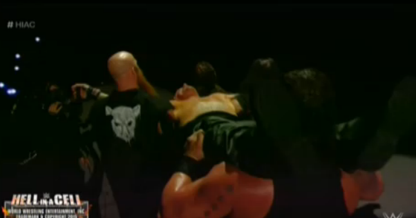 The Undertaker,WWE Hell In A Cell 2015,The Wyatt Family