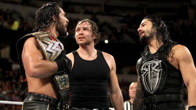 Seth Rollins, Roman Reigns and Dean Ambrose WWE Shield Reunites