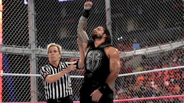 roman reigns wwe Hell In a Cell 2015