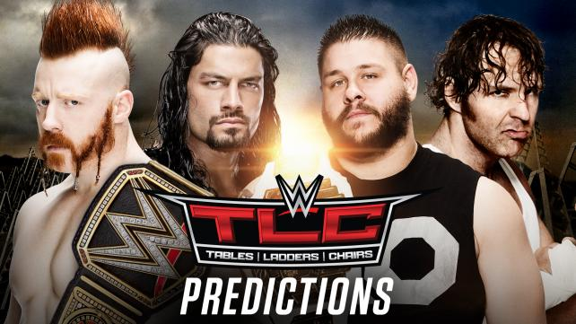 WWE TLC 2015 Predictions