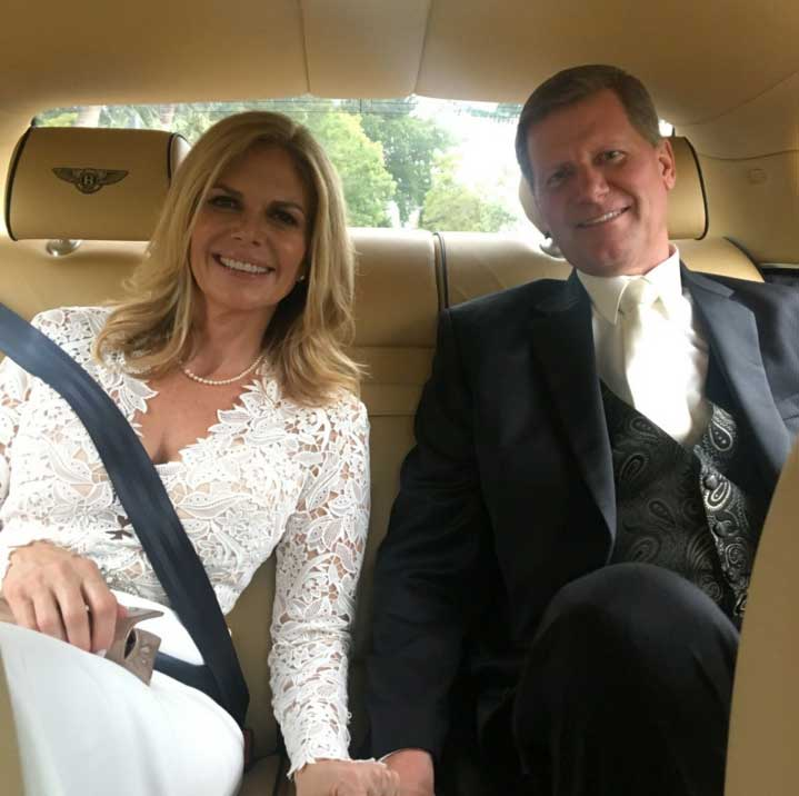 John Laurinaitis and Bella Twins' mother Kathy Colace married