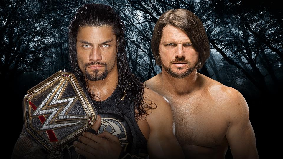 WWE Payback 2016 - AJ Styles vs Roman Reigns