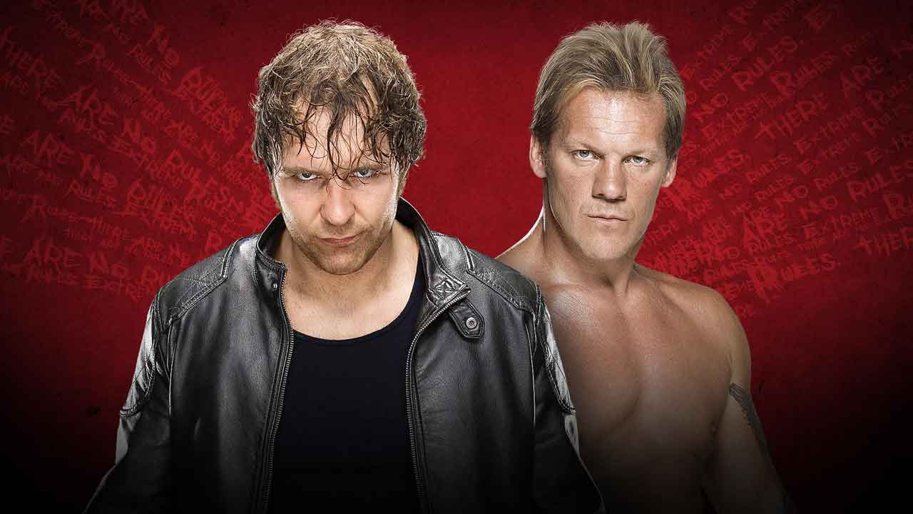 WWE Extreme Rules 2016 Asylum Match - Dean Ambrose vs Chris Jericho