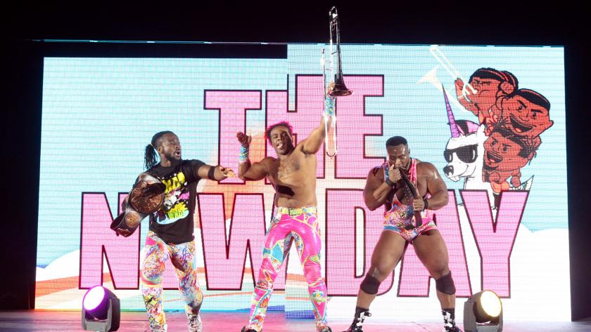 wwe the-new-day