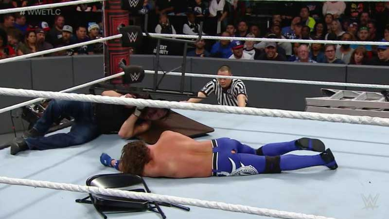 aj-styles-wardrobe-malfunction-wwe-tlc-2016