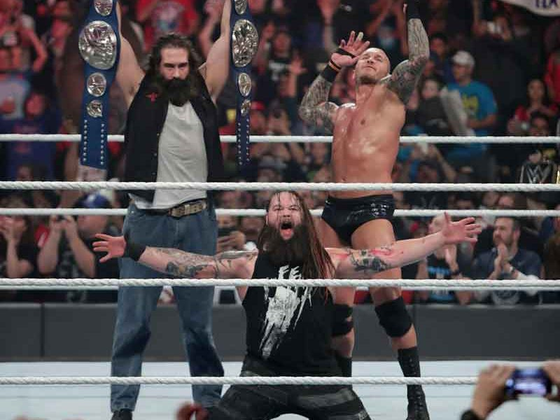 The Wyatt Family,Bray Wyatt , Randy Orton,Luke Harper
