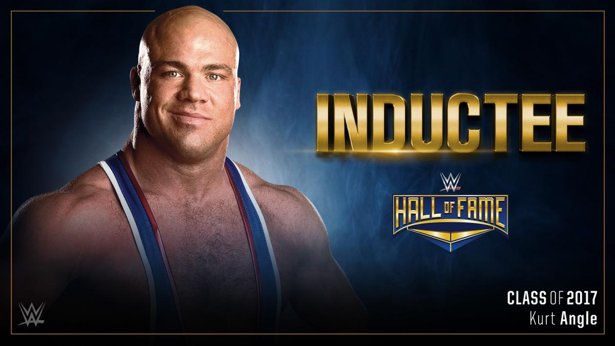 Kurt Angle to be inducted into WWE Hall of Fame Class of 2017