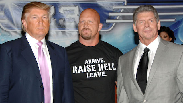 Donald Trump and WWE News Conference for WrestleMania 23 - March 28, 2007