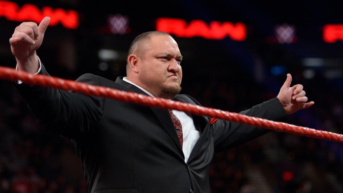 wwe raw Samoa Joe