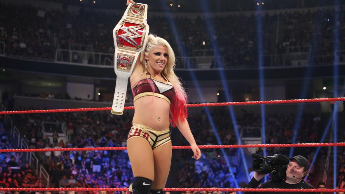 Alexa Bliss - become the first Superstar to win both the Raw and SmackDown Women's Championships