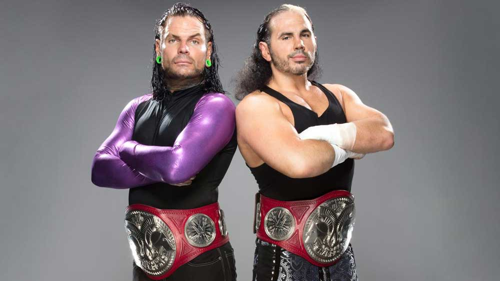 WWE Matt Hardy and Jeff Hardy