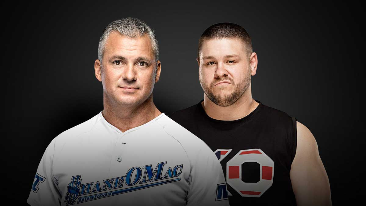 Shane McMahon vs. Kevin Owens (Hell in a Cell Match)