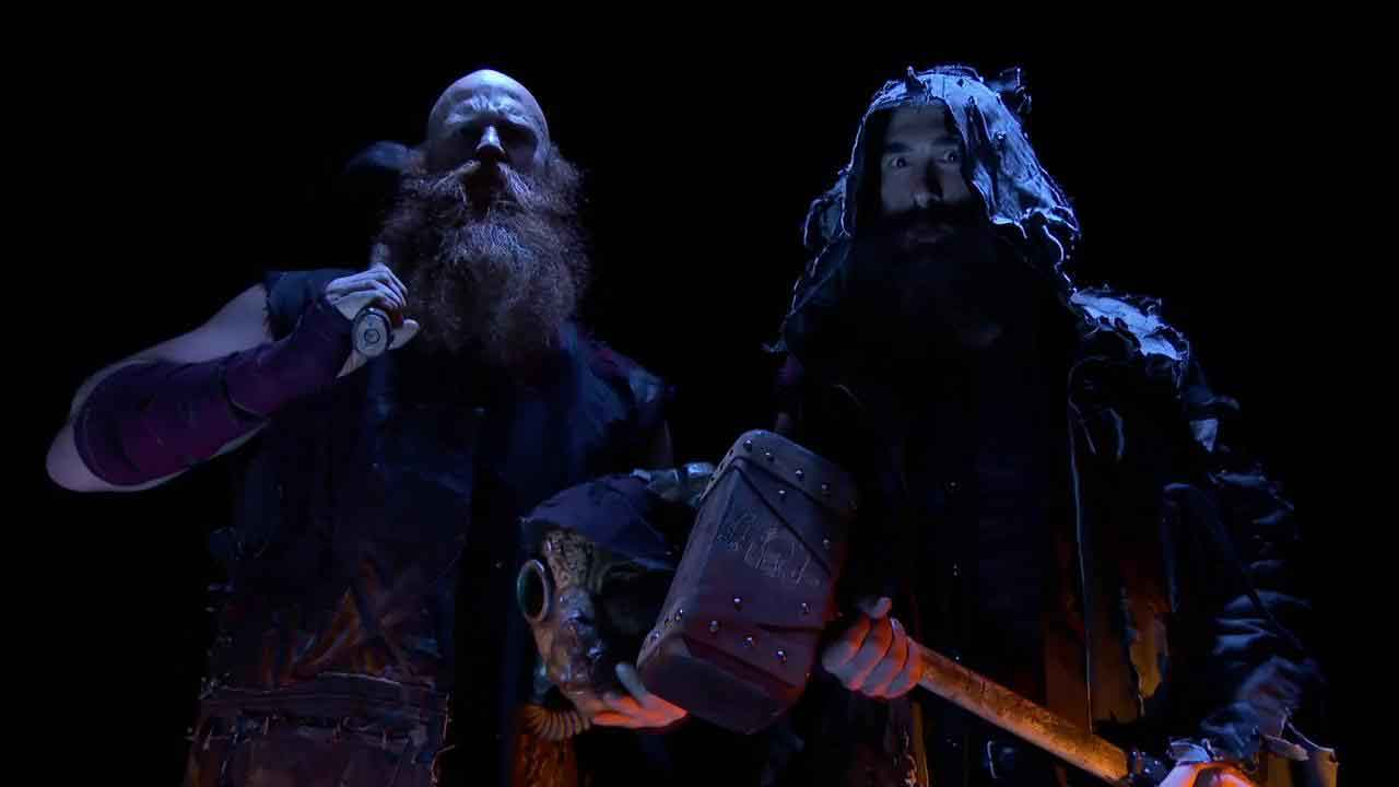 Bludgeon Brothers - Erick Rowan and Luke Harper new look 2017