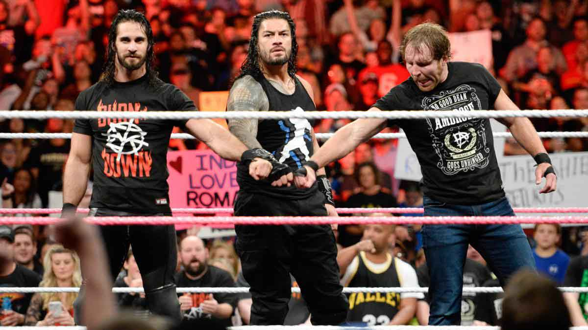 WWE The Shield reunite 2017,Roman Reigns, Seth Rollins ,Dean Ambrose