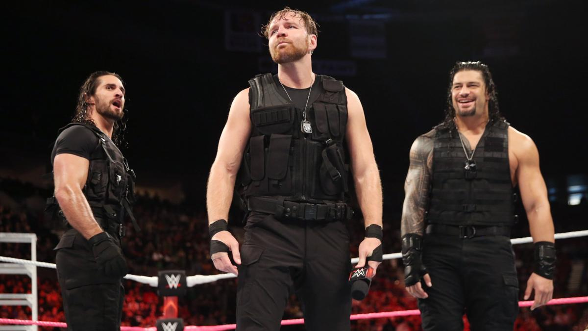 The Shield,Roman Reigns, Seth Rollins ,Dean Ambrose