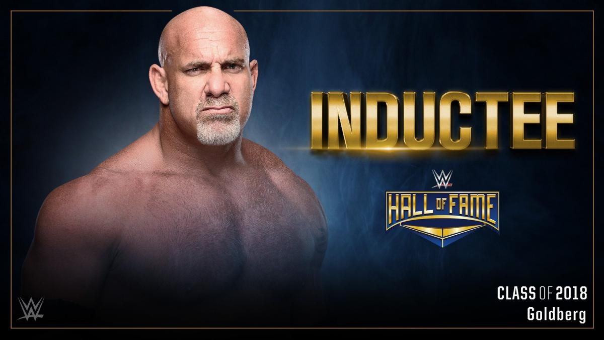 Goldberg 2018 WWE Hall of Fame