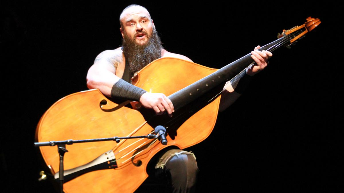 Braun Strowman bashes Elias with a guitar