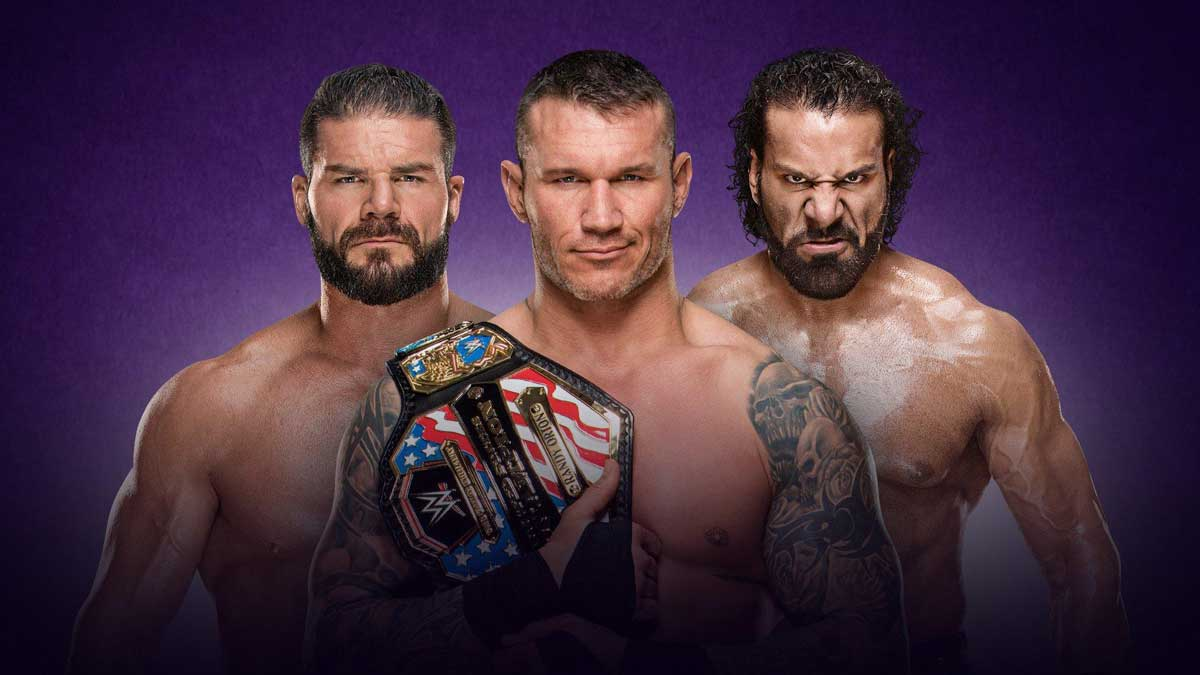 Jinder Mahal vs. Bobby Roode vs. WWE United States Champion Randy Orton for WrestleMania 34