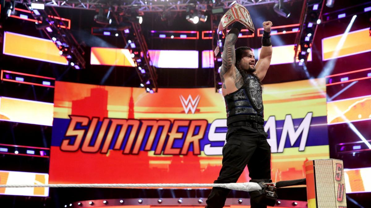 WWE SummerSlam 2018 - Roman Reigns