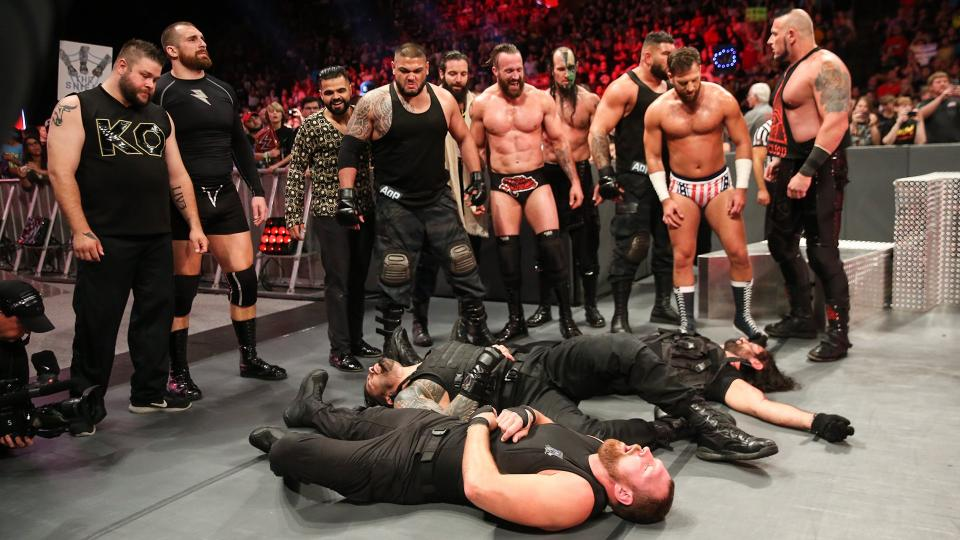 WWE The Shield beat down
