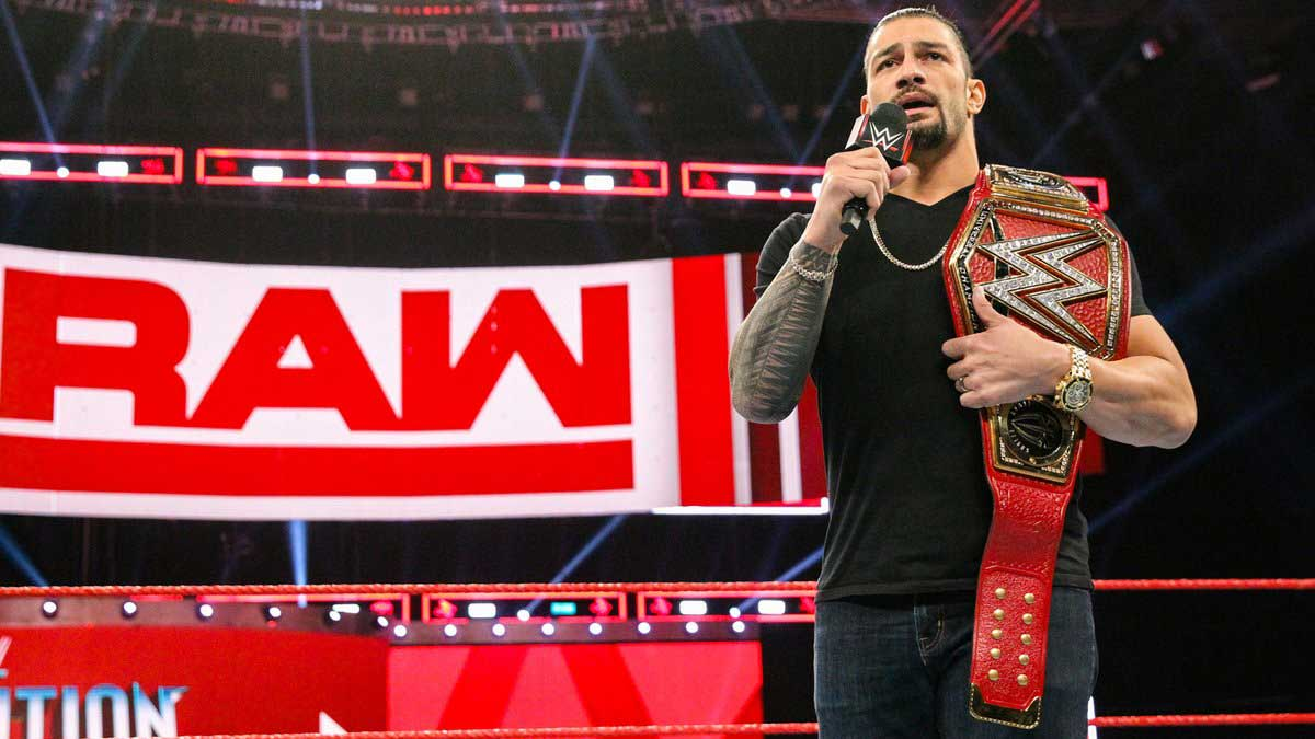Roman Reigns Announces Leukemia