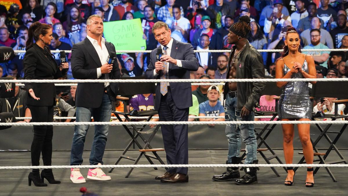 Vince McMahon, Stephanie McMahon, Shane McMahon Appeared at SmackDown 1000