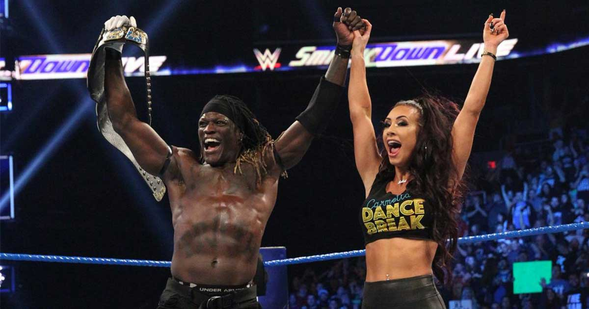 R-Truth with Carmella Wins WWE United States Title