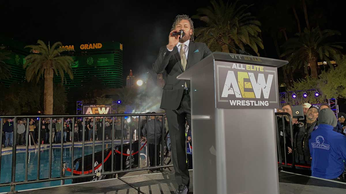 Kenny Omega Signs With All Elite Wrestling - AEW