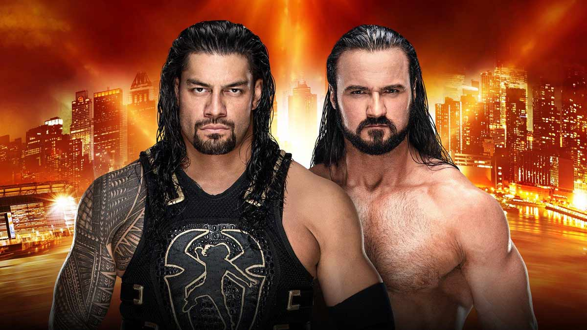 Roman Reigns vs. Drew McIntyre WrestleMania 35
