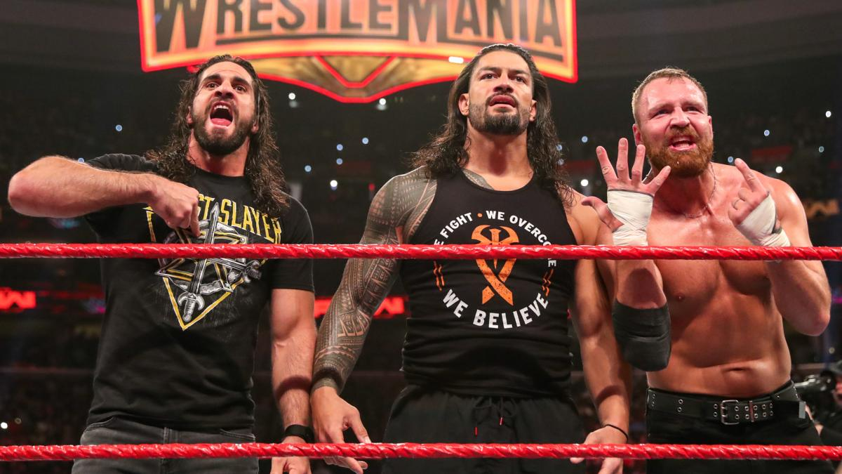 The Shield Reunion 2019 (Roman Reigns, Seth Rollins, Dean Ambrose)
