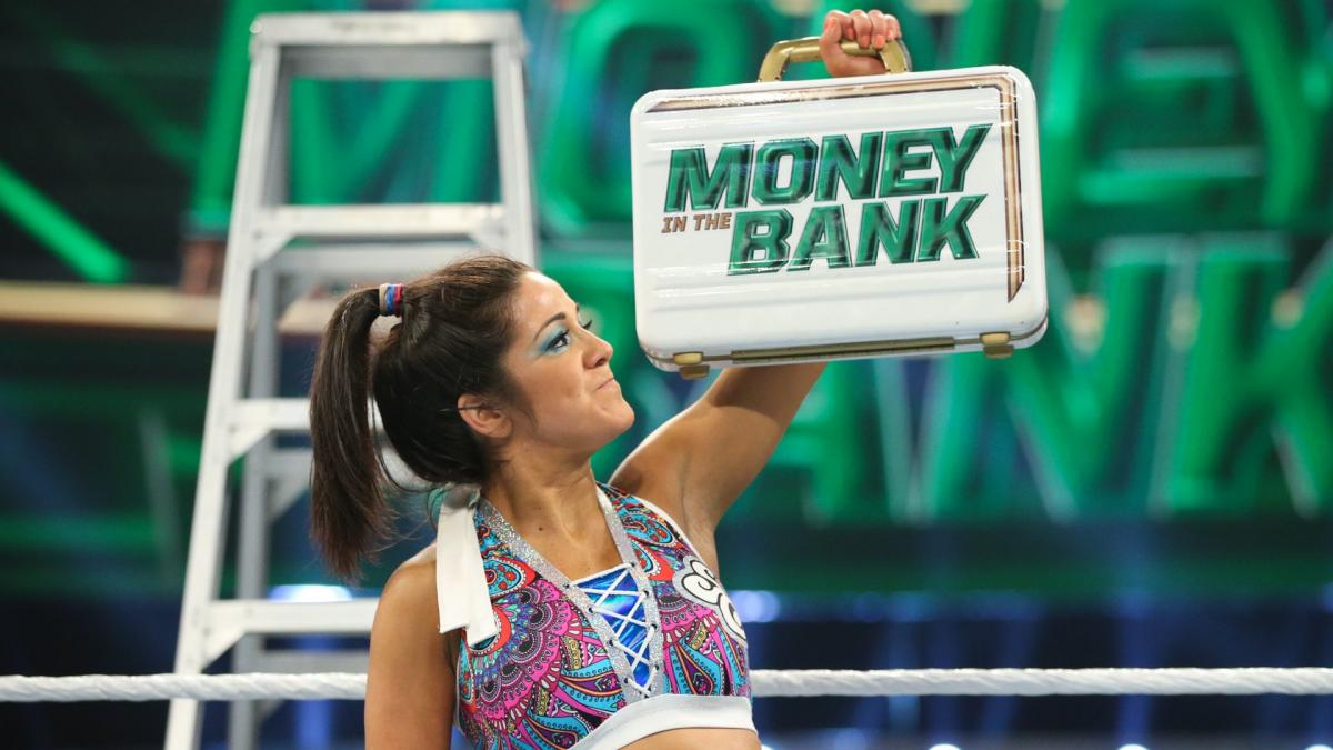 Bayley Wins Money In the Bank 2019