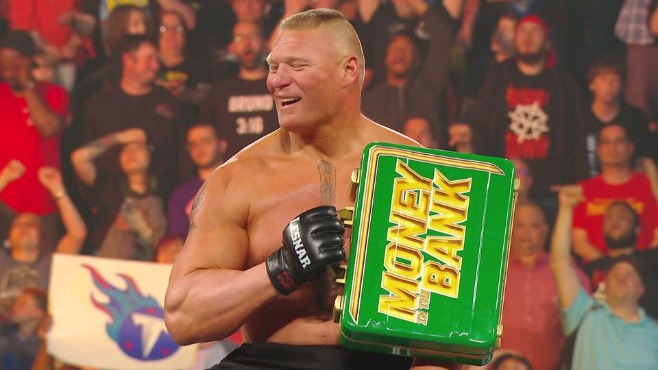 Brock Lesnar Wins Men's MITB Ladder Match 2019