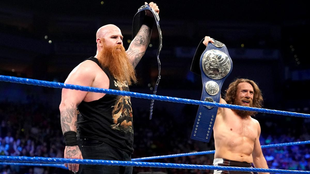 Daniel Bryan & Rowan Win WWE SmackDown Tag Team Titles