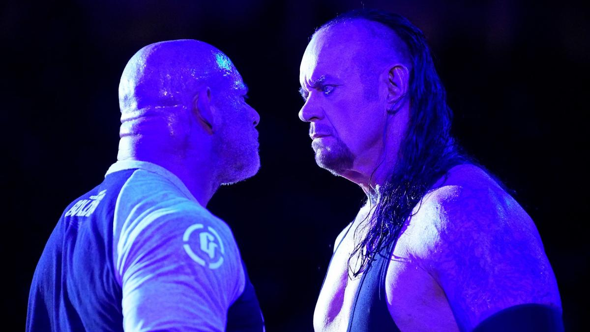 Sames Laredo Tx >> Goldberg and The Undertaker came face-to-face ahead of WWE ...