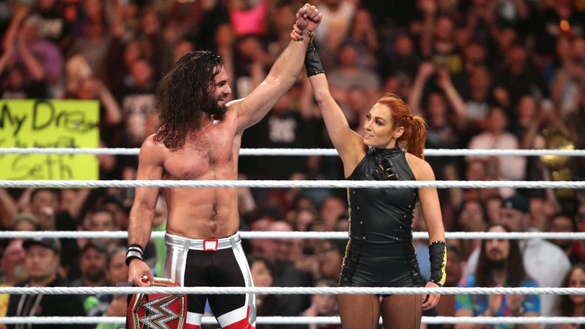 WWE Stomping Grounds 2019 results. Seth rollins and becky lynch
