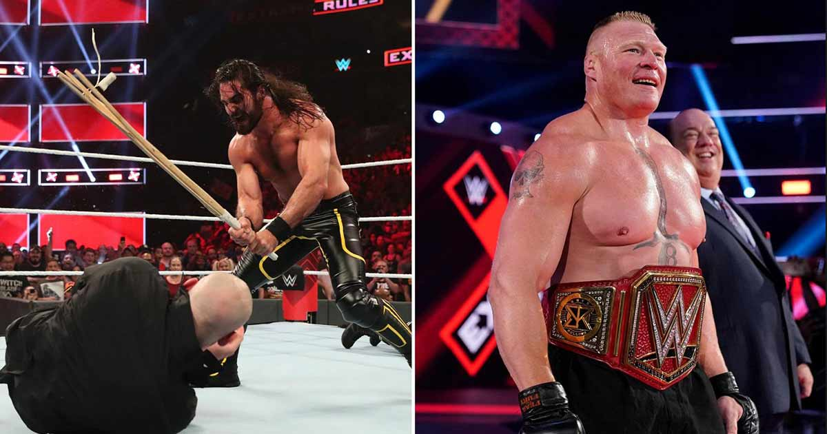 Brock Lesnar cashes in MITB contract