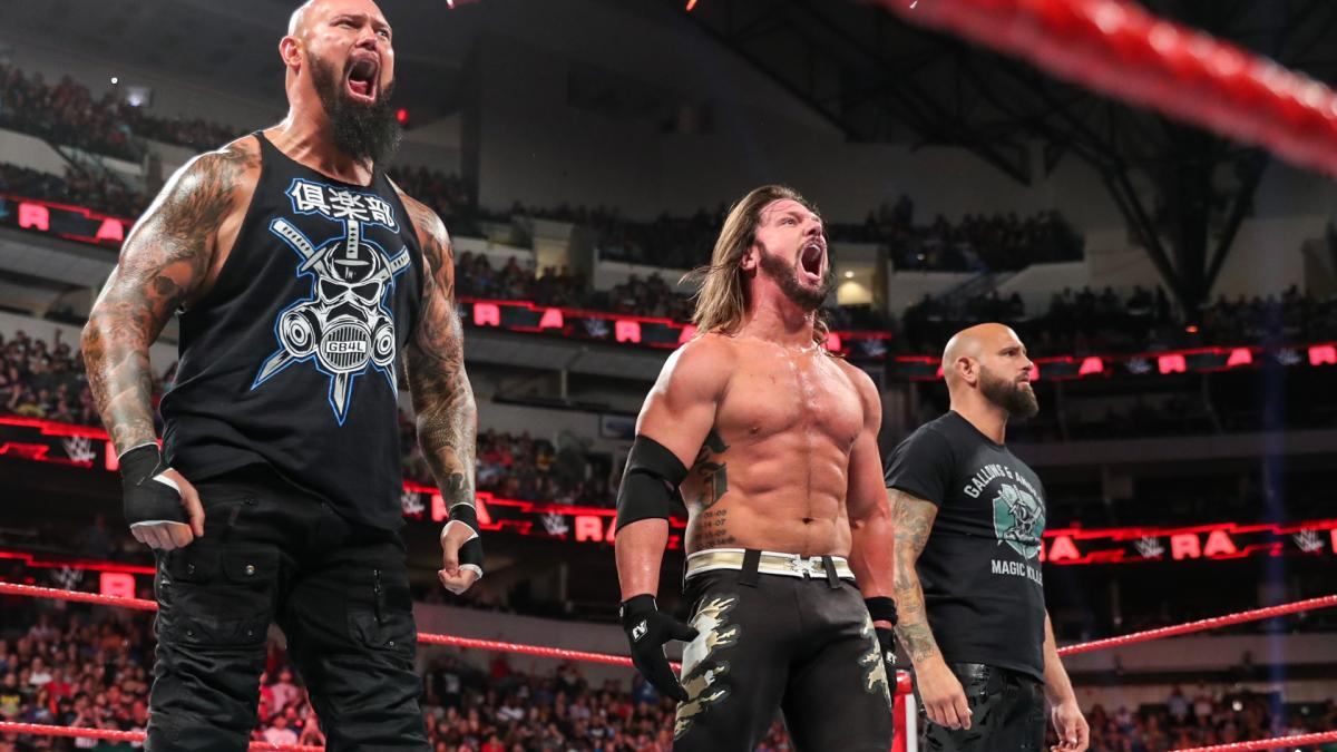 The Club - AJ Styles with Luke Gallows and Karl Anderson
