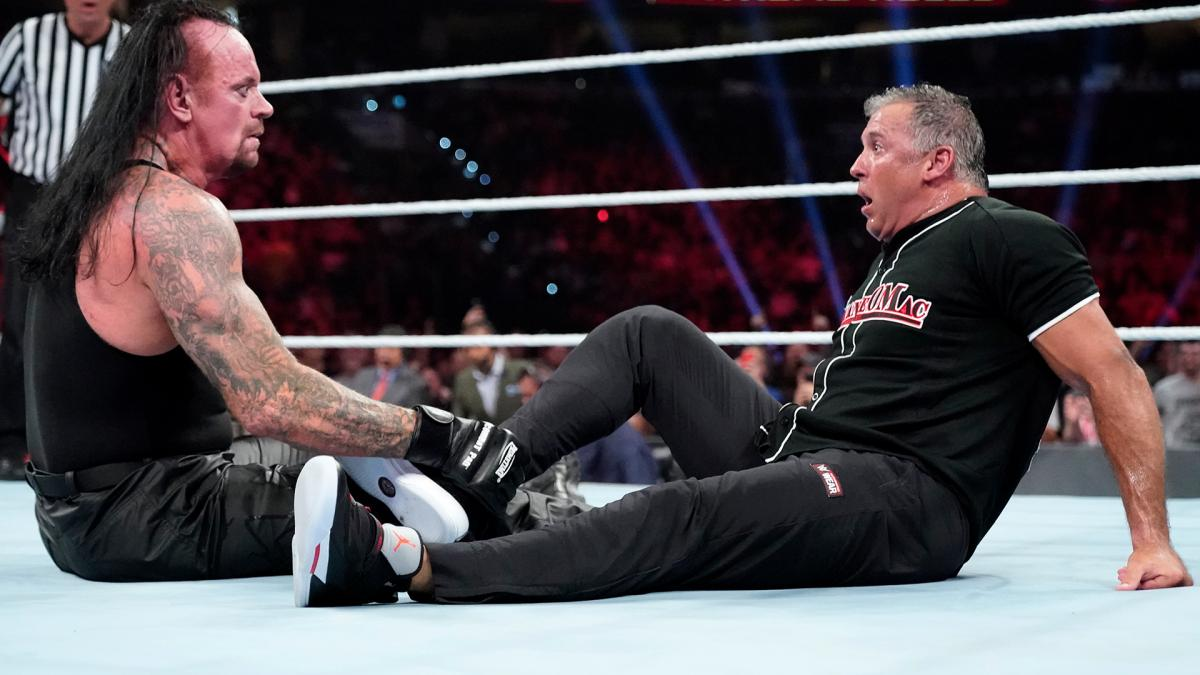 The Undertaker and Shane mcMahon - WWE Extreme Rules 2019